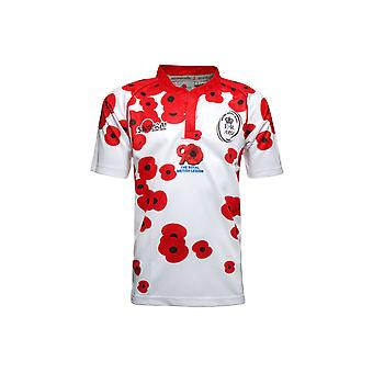 Samurai British Army Poppy Appeal S/S Rugby Shirt