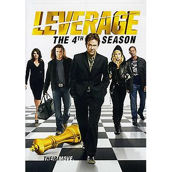 Leverage - Leverage: Season 4 [DVD] USA import