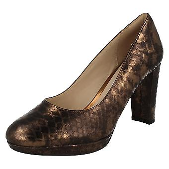 Ladies Clarks High Heeled Fashion Shoes Kendra Sienna