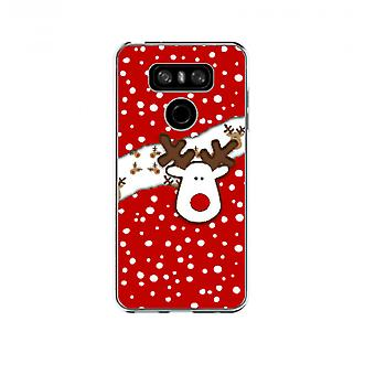 Reindeer Christmas cover for LG G6