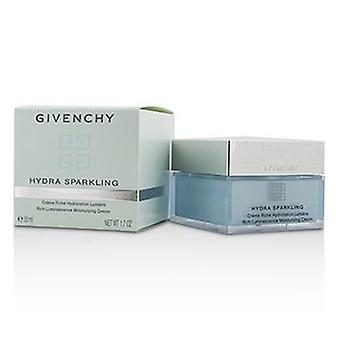 Givenchy Hydra Sparkling Rich Luminescence Moisturizing Cream - Dry Skin - 50ml/1.7oz