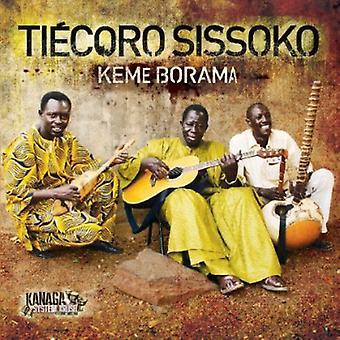 Tiecoro Sissoko - importazione USA Keme Borama [CD]