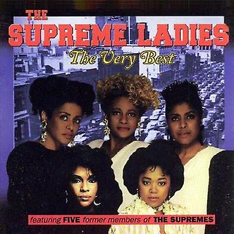 Very Best of the Supreme Ladies - Very Best of the Supreme Ladies [CD] USA import