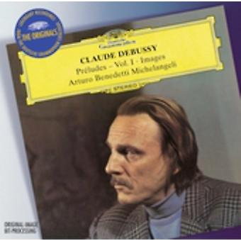 C. Debussy - Claude Debussy: Pr Ludes, Vol. 1; Images [CD] USA import