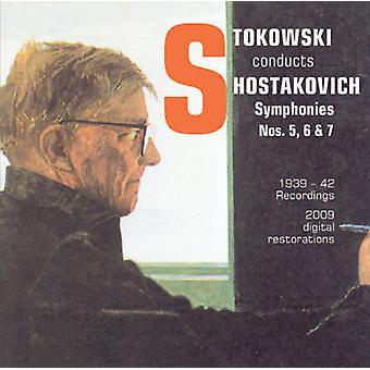 Dmitry Shostakovich - Stowkowski gennemfører Sjostakovitj [CD] USA import