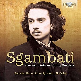 Sgambati / Plano / Quartetto Noferini - Piano Quintets & String Quartets [CD] USA import