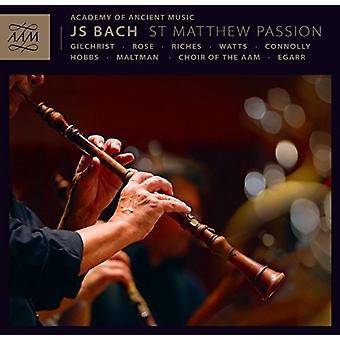 Bach, J.S. / Aam / kor af Aam / Egarr - St. Matthew Passion [CD] USA import