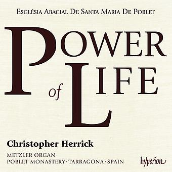 Dupre / Mozart / Warlock / Herrick, Christopher - Power of Life: Metzler Organ of Poblet Monastery [CD] USA import