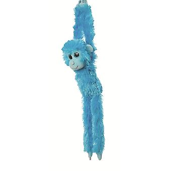 Aurora World 19-inch Colourful Hanging Chimp (Blue)