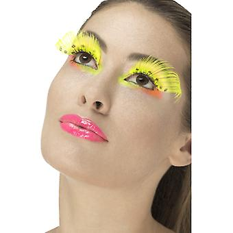 80 lashes neon with points