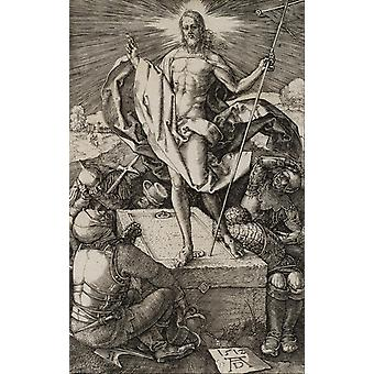 Albrecht Durer - The Resurrection Poster Print Giclee