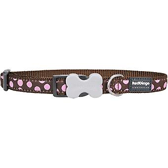 Red Dingo Collar Style Spots Rosa (Chiens , Equipement , Colliers)