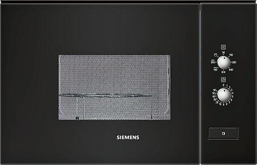 Siemens Microwave grill 20L black + stainless hf12g764