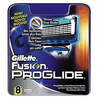 Gillette Charger Fusion Manual Proglide 8Uds
