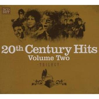 20th århundrede Hits - Vol. 2-20th Century Hits trilogi [CD] USA import