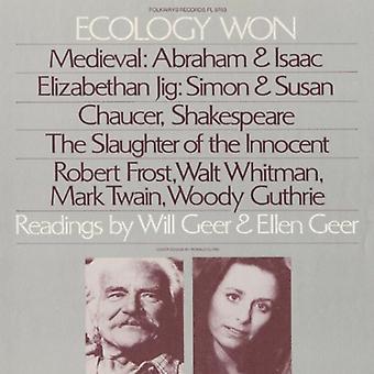 Will Geer & Ellen - økologi vandt: Aflæsninger af Will Geer & Ellen Geer [CD] USA import
