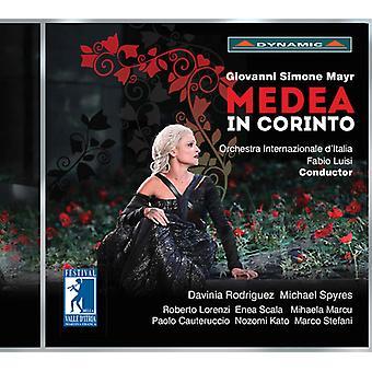 Mayr / Luisi / Lorenzi / Rodriguez - Medea i Corinto [CD] USA import