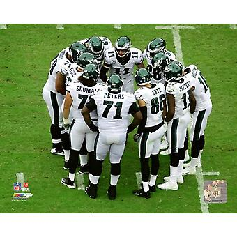 2017 Philadelphia Eagles Huddle Photo Print