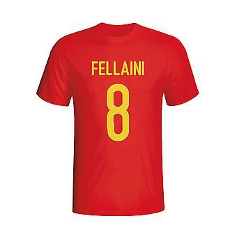 Mexico Fellaini Belgia helten T-shirt (rød)