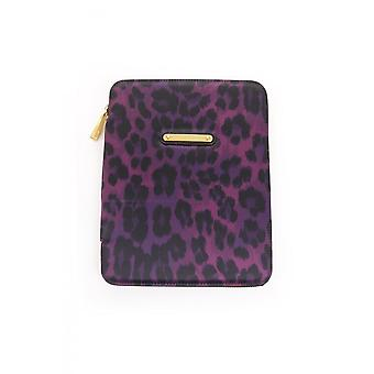 Juicy Couture Womens Leopard Ipad Case