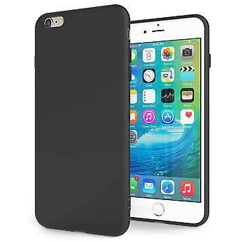 iPhone 6s Plus Ultra Thin Gel Case - Matte Black