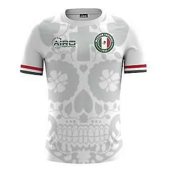 2018-2019 Mexiko bort konceptet fotbollströja