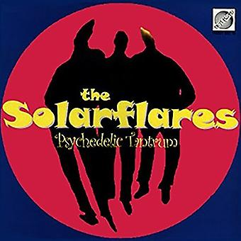 Solarflares - psykedelisk raserianfald [Vinyl] USA importerer