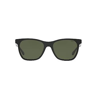 Polo Ralph Lauren Square Sunglasses In Black