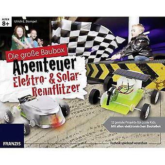 Arts & Craft Kit Franzis Verlag Elektro- & Solar-Rennflitzer 978-3-645-65357-2 8 years and over