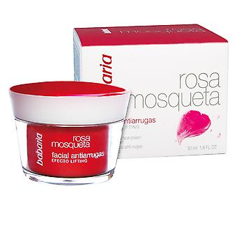 Babaria Rosa Mosqueta Antiarrugas Crema Facial 50ml Womens Scent Sealed Boxed