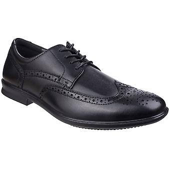 Hush Puppies Mens Cale Lace Up Leather Oxford Smart Brogue Shoes