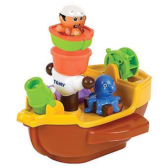 Tomy Aquafun Pirate Bath Ship (Model No. E71602)