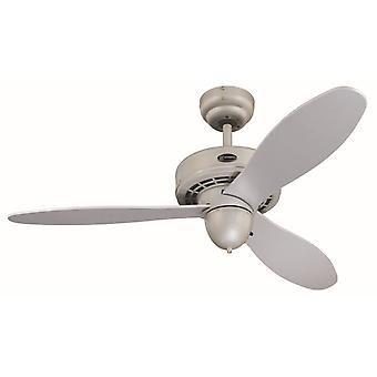 Westinghouse ceiling fan Airplane silver 105 cm / 42