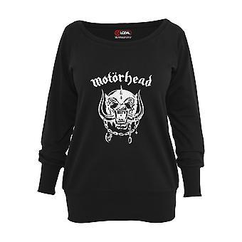 Urban Classics Damen Sweater Motörhead Everything Louder Wideneck