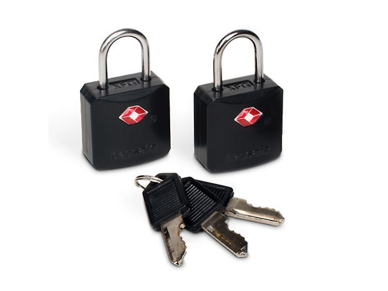 Pacsafe ProSafe 620 TSA Accepted Luggage Locks (Black)
