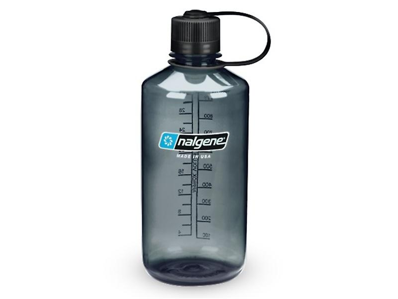 Nalgene Narrow Mouth 1.0L Bottle (Grey)