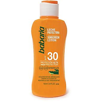 Babaria Aloe Sunscreen Milk SPF 30 100 ml (Cosmétique , Corporel , Solaires)