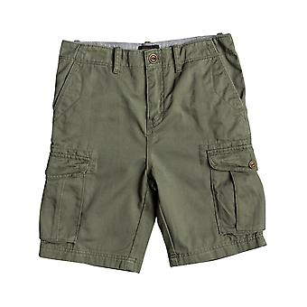 Quiksilver Four Leaf Clover Crucial Battle Kids Cargo Shorts