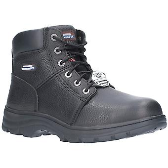 Skechers Mens Workshire Relaxed Fit Laced Safety Ankle Boots