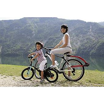Fiets tagalong tow bar Trail Angel Red, Black