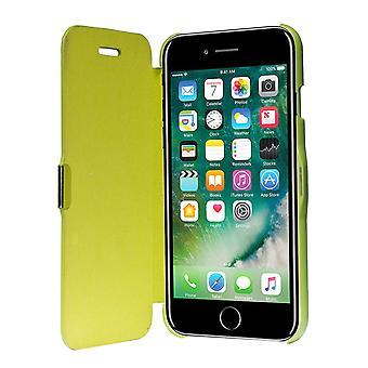 Flip cover sleeve case phone cover Bookstyle for Apple iPhone 7 Green