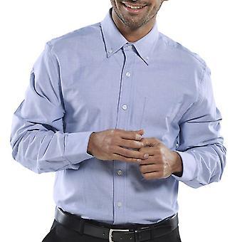 Click Oxford Long Sleeve Corporate Work Shirt - Oxsls
