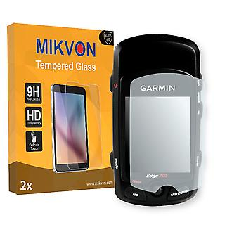 Garmin Edge 705 Screen Protector - Mikvon flexible Tempered Glass 9H (Retail Package with accessories)
