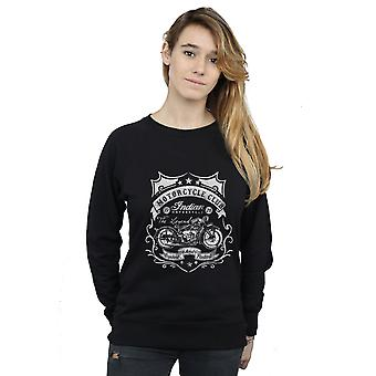 Drewbacca Women's Indian Motorcycle Sweatshirt