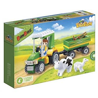 Tractor With Tools (115 Pcs)
