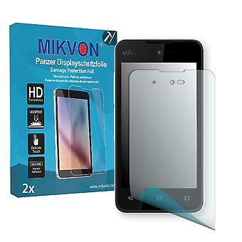 Wiko Sunset 2 Screen Protector - Mikvon Armor Screen Protector (Retail Package with accessories)