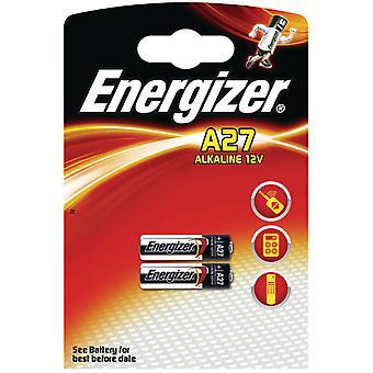 Energizer EN-639333 Alkaline Battery A27 12v 2-blister