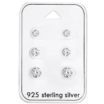 ラウンド - 925 スターリングシルバー セット - W28454x