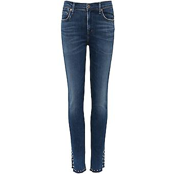 Citizens of Humanity Studded Rocket Skinny Jeans