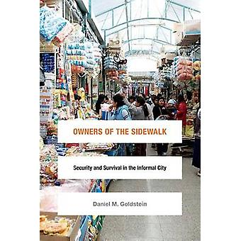 Owners of the Sidewalk - Security and Survival in the Informal City by
